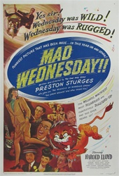 Mad Wednesday Original US One Sheet