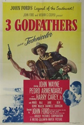 3 Godfathers Original US One Sheet