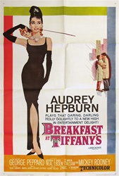 Breakfast At Tiffany's Original US One Sheet