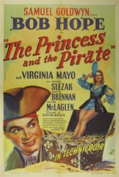 The Princess And The Pirate Original US One Sheet