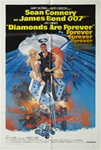 Diamonds Are Forever Original US One Sheet