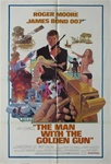 The Man With The Golden Gun Original US One Sheet