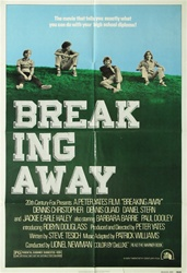 Breaking Away Original US One Sheet