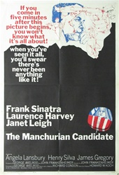 The Manchurian Candidate Original US One Sheet
