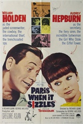 Paris When It Sizzles Original US One Sheet
