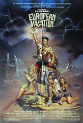 National Lampoon's European Vacation Original US One Sheet