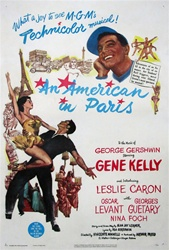 An American In Paris Original US One Sheet