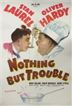 Nothing But Trouble Original US One Sheet