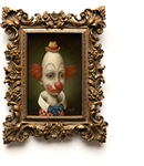 Marion Peck Thin Clown Limited Edition Print