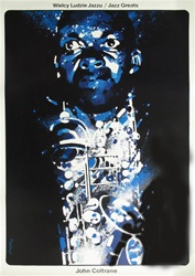 Polish Poster John Coltrane