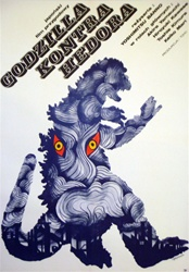 Polish Movie Poster Godzilla vs. The Smog Monster (Godzilla Kontra Hedora)