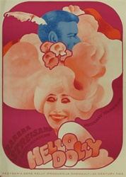 Polish Movie Poster Hello Dolly