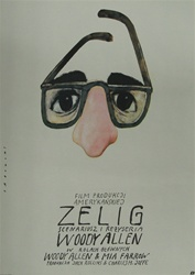 Polish Movie Poster Zelig