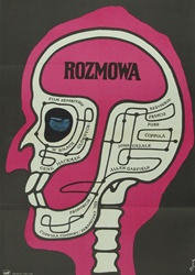 Polish Movie Poster The Conversation