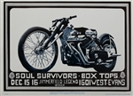 The Soul Survivors Original Concert Poster