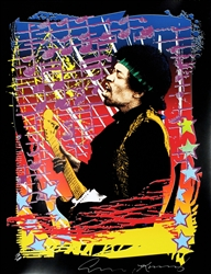 Jimi Hendrix Limited Edition Silkscreen