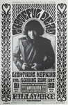 Grateful Dead And Lightning Hopkins Original Concert Poster
