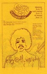 Newport Festival 1969 at Devonshire Downs Original Concert Handbill