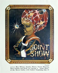 Joint Show Original Lithograph Poster