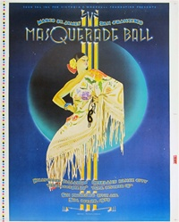 Masquerade Ball Concert Poster Proof Sheet