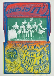 This Is it! Sparrow/ Wildflower Original Concert Poster