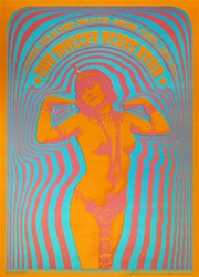 The Miller Blues Band Original Concert Poster
