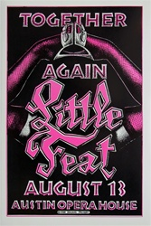 Little Feat Together Again Original Concert Poster