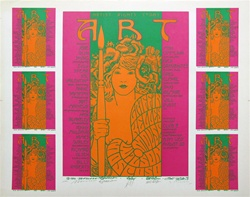 Art Benefit 1 Original Signed Uncut Proof Sheet