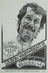Loudon Wainwright III At The Armadillo World Headquarters Original Concert Poster
