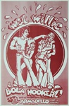 Wet Willie At The Armadillo World Headquarters Original Concert Poster