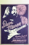 Dave Mason At The Armadillo World Headquarters Original Concert Poster