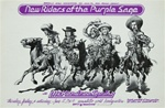 New Riders Of The Purple Sage At The Armadillo World Headquarters Original Concert Poster