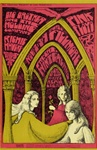 Pink Floyd and Big Brother And The Holding Company Original Concert Postcard