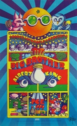 Albert King And Big Brother And The Holding Company Original Concert Poster