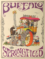 Buffalo Springfield Original Poster