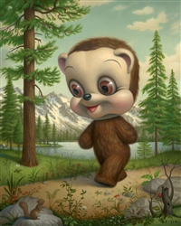 Mark Ryden California Brown Bear Limited Edition Print