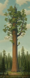Mark Ryden General Sherman Limited Edition Print