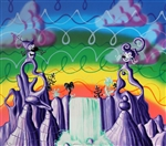 Kenny Scharf Limited Edition Print Aquapolination