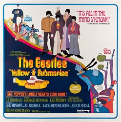 Yellow Submarine Original US Six Sheet