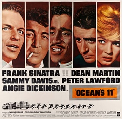 Ocean's 11 Original US Six Sheet