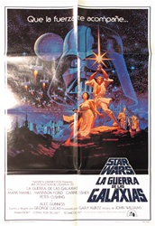 Star Wars Original Spanish One Sheet