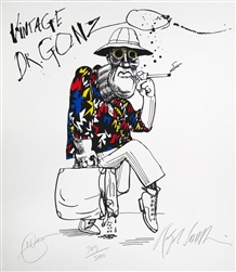 Vintage Dr. Gonzo Limited Edition Print