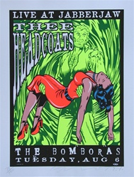 Taz Headcoats Original Rock Concert Poster