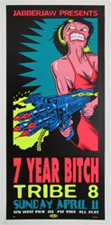 Taz 7 Year Bitch Original Rock Concert Poster