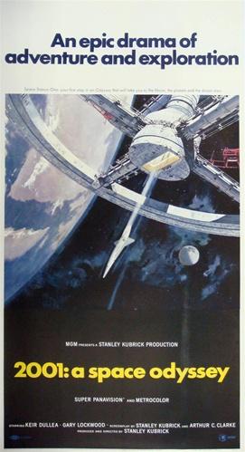 2001 A Space Odyssey Poster SKU 48303