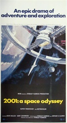 2001 A Space Odyssey Original US Three Sheet
