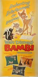 Bambi Original US Three Sheet