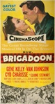 Brigadoon Original US Three Sheet
