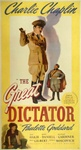 Great Dictator Original US Three Sheet