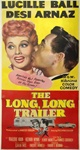 The Long, Long Trailer Original US Three Sheet